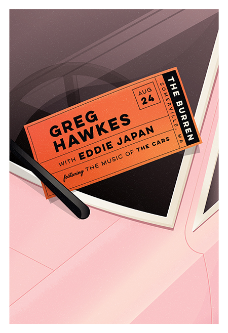 Greg Hawkes with Eddie Japan featuring the music of The Cars!